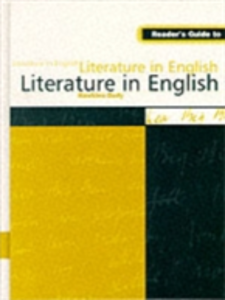 Ebook in inglese Reader's Guide to Literature in English -, -