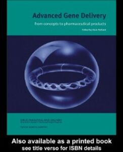 Foto Cover di Advanced Gene Delivery, Ebook inglese di  edito da Taylor and Francis