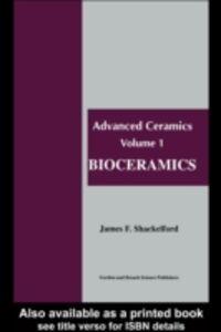 Ebook in inglese Bioceramics Shackelford, James F.