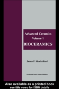 Ebook in inglese Bioceramics Shackelford, James F.