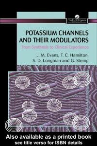 Ebook in inglese Potassium Channels And Their Modulators Evans, John M