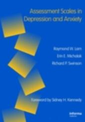 Assessment Scales in Depression, Mania and Anxiety