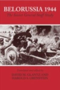 Ebook in inglese Belorussia 1944