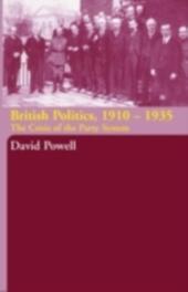 British Politics, 1910-1935