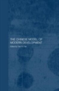 Ebook in inglese Chinese Model of Modern Development