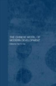 Ebook in inglese Chinese Model of Modern Development -, -