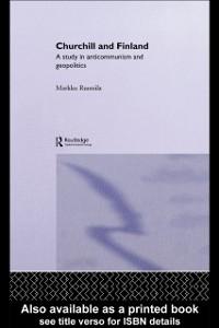 Ebook in inglese Churchill and Finland Ruotsila, Markku