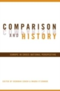 Foto Cover di Comparison and History, Ebook inglese di  edito da Taylor and Francis