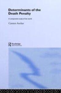 Ebook in inglese Determinants of the Death Penalty Anckar, Carsten