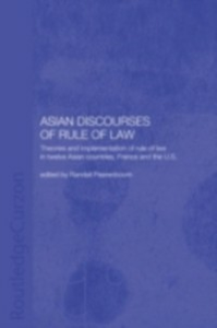 Ebook in inglese Asian Discourses of Rule of Law -, -
