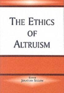 Foto Cover di Ethics of Altruism, Ebook inglese di  edito da Taylor and Francis