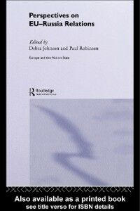 Ebook in inglese Perspectives on EU-Russia Relations