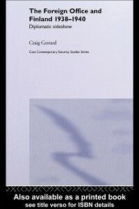 Ebook in inglese Foreign Office and Finland Gerrard, Craig