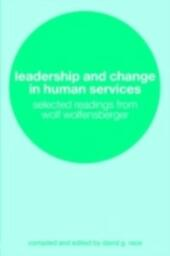 Leadership and Change in Human Services