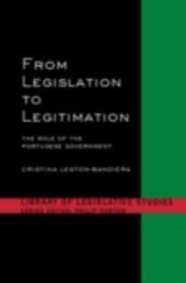 From Legislation to Legitimation