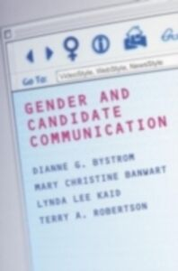 Foto Cover di Gender and Candidate Communication, Ebook inglese di  edito da Taylor and Francis