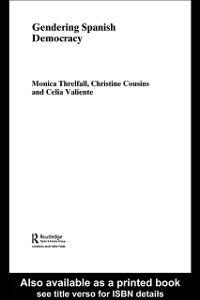 Foto Cover di Gendering Spanish Democracy, Ebook inglese di AA.VV edito da Taylor and Francis