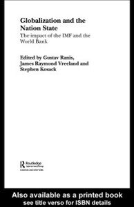 Ebook in inglese Globalization and the Nation State Kosack, Stephen , Ranis, Gustav , Vreeland, James