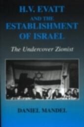 H V Evatt and the Establishment of Israel