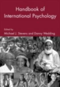 Ebook in inglese Handbook of International Psychology -, -