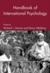 Handbook of International Psychology