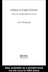Ebook in inglese India's Partition Panigrahi, Devendra