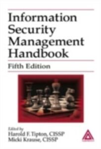 Ebook in inglese Information Security Management Handbook, Fifth Edition Krause, Micki , Tipton, Harold F.