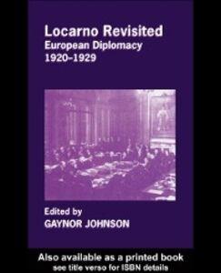 Ebook in inglese Locarno Revisited -, -