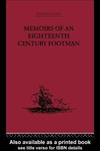 Ebook in inglese Memoirs of an Eighteenth Century Footman Macdonald, John