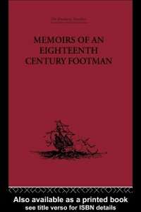 Ebook in inglese Memoirs of an Eighteenth Century Footman Macdonald, John