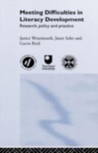 Foto Cover di Meeting Difficulties in Literacy Development, Ebook inglese di AA.VV edito da Taylor and Francis
