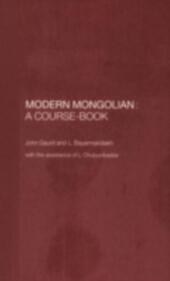 Modern Mongolian: A Course-Book