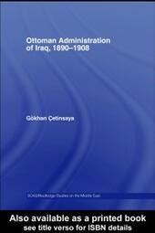 Ottoman Administration of Iraq, 1890-1908
