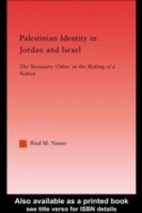 Ebook in inglese Palestinian Identity in Jordan and Israel Nasser, Riad M.