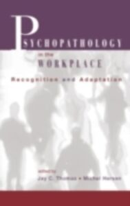 Ebook in inglese Psychopathology in the Workplace