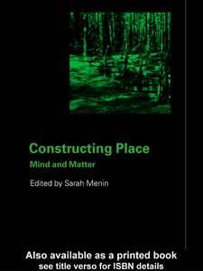 Ebook in inglese Constructing Place