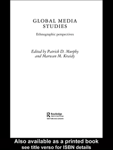 Ebook in inglese Global Media Studies