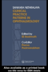 Ebook in inglese Sankara Nethralaya Clinical Practice Patterns in Ophthalmology -, -