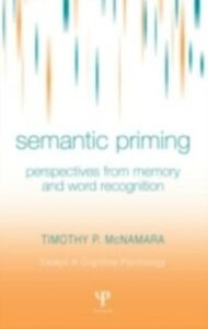 Ebook in inglese Semantic Priming McNamara, Timothy P.