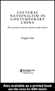 Ebook in inglese Cultural Nationalism in Contemporary China Guo, Yingjie