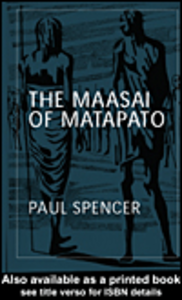 Ebook in inglese The Maasai of Matapato Spencer, Paul