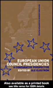 Ebook in inglese European Union Council Presidencies