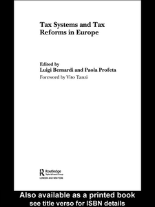 Ebook in inglese Tax Systems and Tax Reforms in Europe