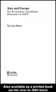 Ebook in inglese Asia and Europe Yeo, Lay Hwee