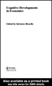 Ebook in inglese Cognitive Developments in Economics Rizzello, Salvatore
