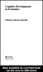 Cognitive Developments in Economics