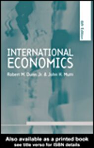 Ebook in inglese International Economics Dunn Jr, Robert M. , Mutti, John H.