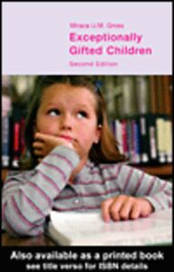 Ebook in inglese Exceptionally Gifted Children Gross, Miraca