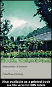 Ebook in inglese Southeast Asia Kahin, George McT.