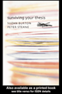 Ebook in inglese Surviving Your Thesis